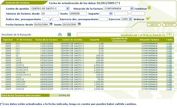 ayuda online ofpro acceso privado gestión económica extracto de